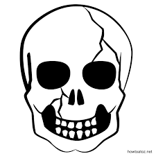 26 images of free printable skull template eucotech com