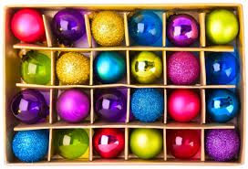 a box of ornaments wallpapers and images wallpapers pictures