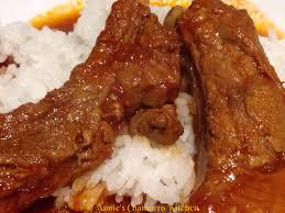 tomato braised pork ribs annie u0027s chamorro kitchen