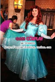 Princess Ariel Halloween Costume Costume Wigs Kids Picture Detailed Picture