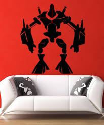 wall decals for home wall vinyl stickers vinyl art decals vinyl wall decal sticker alien robot 5145