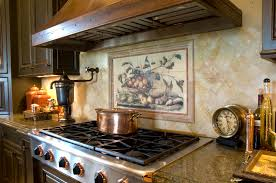 Kitchen Tile Murals Tile Art Backsplashes Home Design Wall Murals For Teenage Concrete Kitchen The Most