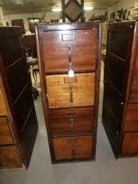 real wood file cabinet antique wood file cabinet ebay
