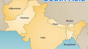 asia map and countries south asia countries capitals