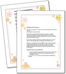 free printable bridal shower left right game baby shower left right game baby shower games printable party games