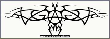 tribal logo tattoo