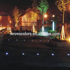 color changing outdoor lights color changing outdoor lights low voltage led lights in concrete
