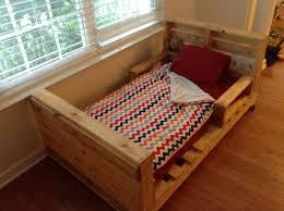 homemade toddler bed 5 diy pallet toddler beds boys room pinterest pallet toddler