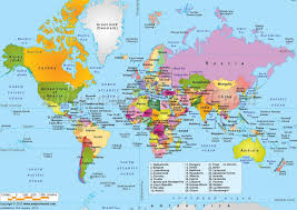 map all this amazing map shows you where all the countries are