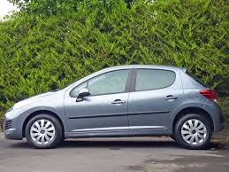 peugeot 207 used stone grey metallic peugeot 207for sale dorset