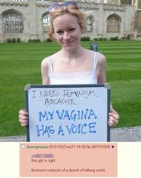Vagina Meme - this girl is right who needs feminism know your meme