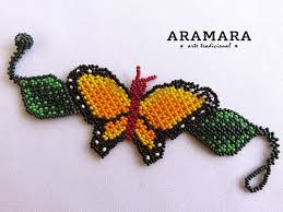 beaded butterfly bracelet images 748 best huichol breaclet images bead jewelry pony jpg