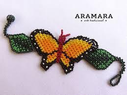 beaded butterfly bracelet images 267 best huichol pulseras images jpg
