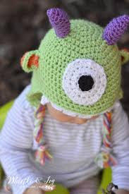 halloween hats for babies littlest monster crochet baby hat whistle and ivy