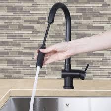 vigo black kitchen faucet rare goodwill gramercy single handle