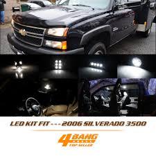 chevy silverado interior lights 16 pcs led interior light package kit for 2006 silverado 3500 white