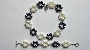 simple pearl bracelet images Simple and elegant diy pearl jewelry set beginners project jpg