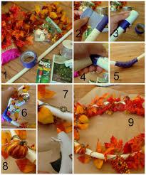 Fall Homemade Decorations - diy chandelier fall harvest lowescreator sassy mama in la