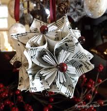 papercraft christmss decor jingle bells kusudama japanese
