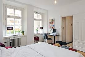 Small Dark Wood Desk Small Apartment Bedroom Decorating Ideas White Walls Beauty Dark