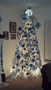 i the snowy feeling of blue white and silver for