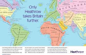 London On World Map by Heathrow Party Conference Lounge Your Heathrow