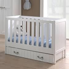 chambre en pin chambre bébé complète en pin massif blanc laqué marin blanc in