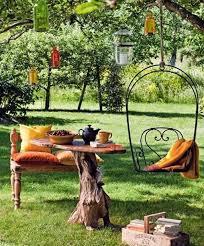 Outdoor 10 Beautiful Outdoor Furniture Garden Ideas Wood Home