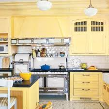 yellow kitchens antique yellow kitchen the best power paint colors for your rooms black countertops