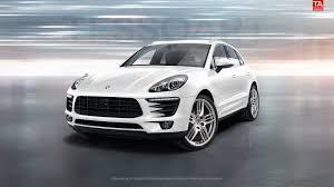 Porsche Macan S - tessoart porsche macan s in white with sportdesign wheels