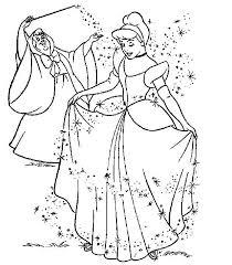 image princesse cendrillon az coloriage