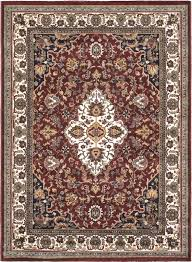 Floral Area Rug Ecarpetgallery Burgundy Cream Medallion Floral Area Rug U0026 Reviews