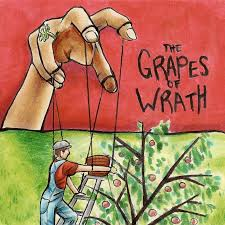 grapes of wrath themes and symbols it communicates the books theme of the submissive silent majority