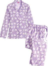 womens cotton pajamas flannel pjs vermont country store