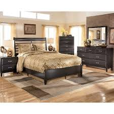 kira panel bedroom set signature design by ashley furniture
