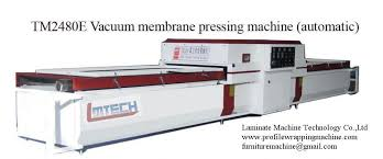 ce kitchen cabinets doors pvc vacuum laminating machine