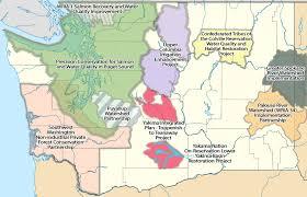 Map Of Spokane Washington Washington State Conservation Commission Regional Conservation