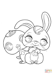 littlest pet shop coloring pages free coloring pages