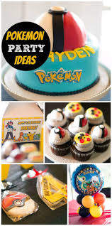 Birthday Decorations For Husband At Home by 64 Best Pokemon Go Party Ideas Images On Pinterest Birthday