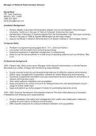 Cloud Computing Experience Resume Resume Sample Network Admin 18 Administrator For 15 Awesome