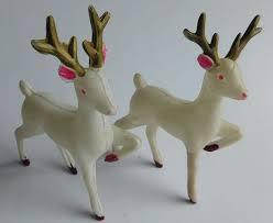 Vintage Christmas Cake Decorations Reindeer by 25 Best Reindeer Search Images On Pinterest Reindeer Vintage