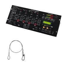 19 Inch Audio Rack American Audio Q Fx Pro 19 Inch 16 Bit Digital Rack Mount Dj