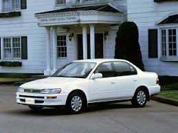 1991 Toyota Corolla Hatchback Toyota Corolla 2 0 1997 Technical Specifications Interior And