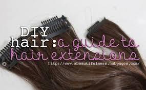 diy hair extensions diy hair a guide to hair extensions bellatory