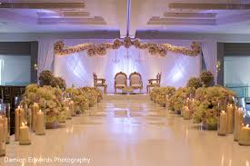 indian wedding decorators in nj ceremony decor in jersey city nj indian wedding by damion edwards