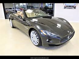 2013 maserati granturismo interior 2013 maserati granturismo for sale in fort myers fl stock 066901