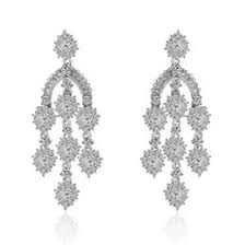 diamond chandelier earrings discount diamond chandelier earrings for wedding 2017 diamond