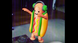 Hot Dog Meme - dancing hot dog snapchat filter know your meme