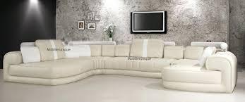 canapé d angle haut de gamme canape d angle cuir beige canapac panoramique cuir et toujours