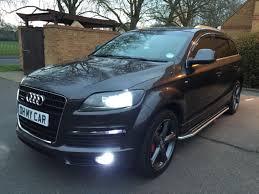 Audi Q7 Diesel - audi q7 diesel estate 3 0 tdi quattro s line 5dr tip auto